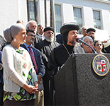 Muslim & Coptic Christian Leaders Denounce Hate & Violence at L.A. Press Conference