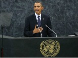 Obama Applauds and Admonishes Muslims in UN Speech