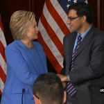 MPAC President Speaks at Roundtable with Hillary Clinton