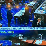Senate Votes to Cease U.S. Military Involvement in Yemen