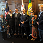 We had Mayor Garcetti clarify his statement about Jerusalem