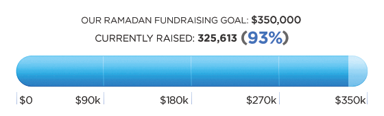 We've reached 93% of our goal!