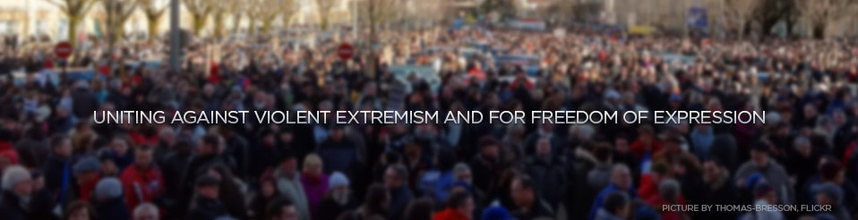 Uniting Against Violent Extremism and for Freedom of Expression