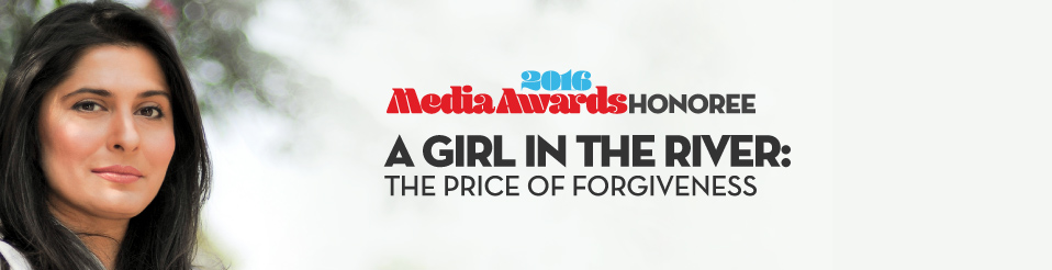 Meet our Media Awards honoree - A Girl in the River